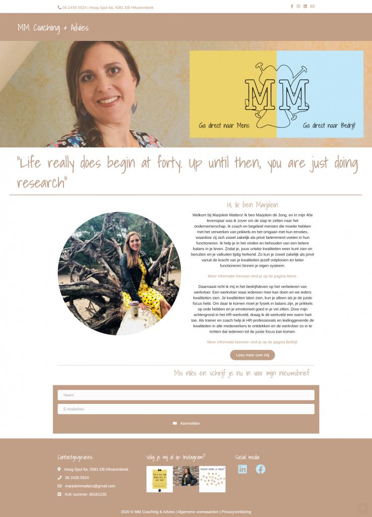 Portfolio website laten maken