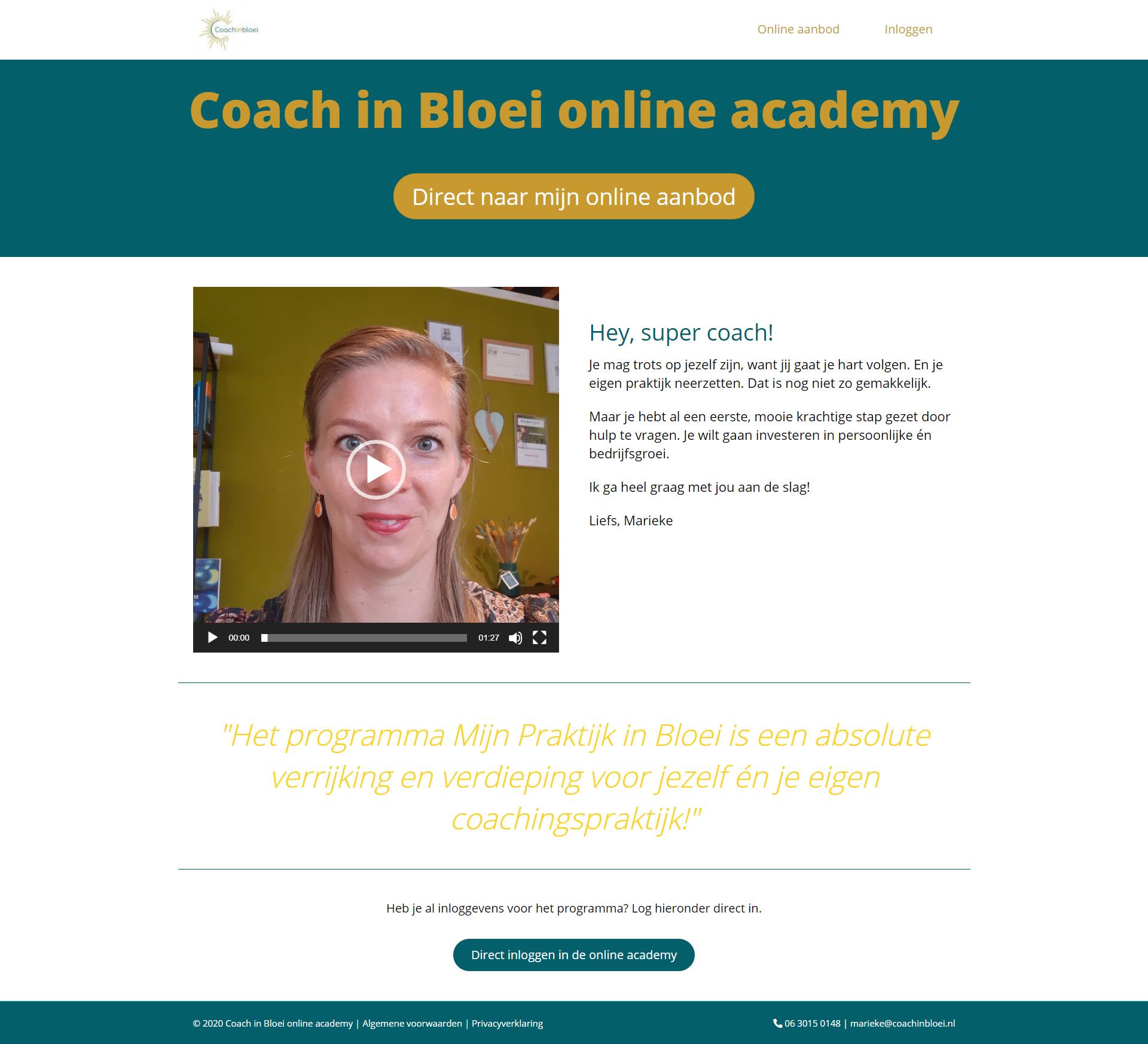 Online leeromgeving laten maken